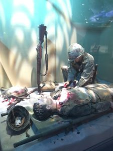 korean war marine corps museum corpsman wounded
