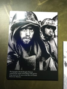Chosin korean war marine corps museum david douglas dunc