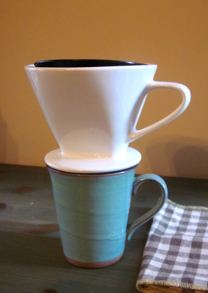 pour over hand drip coffee