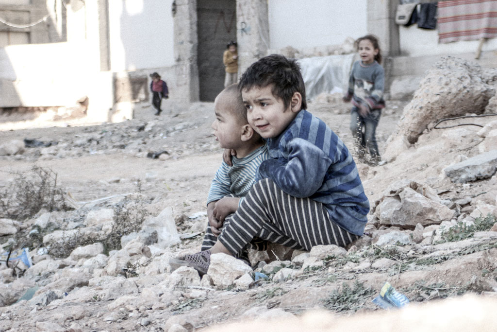 Aleppo-children
