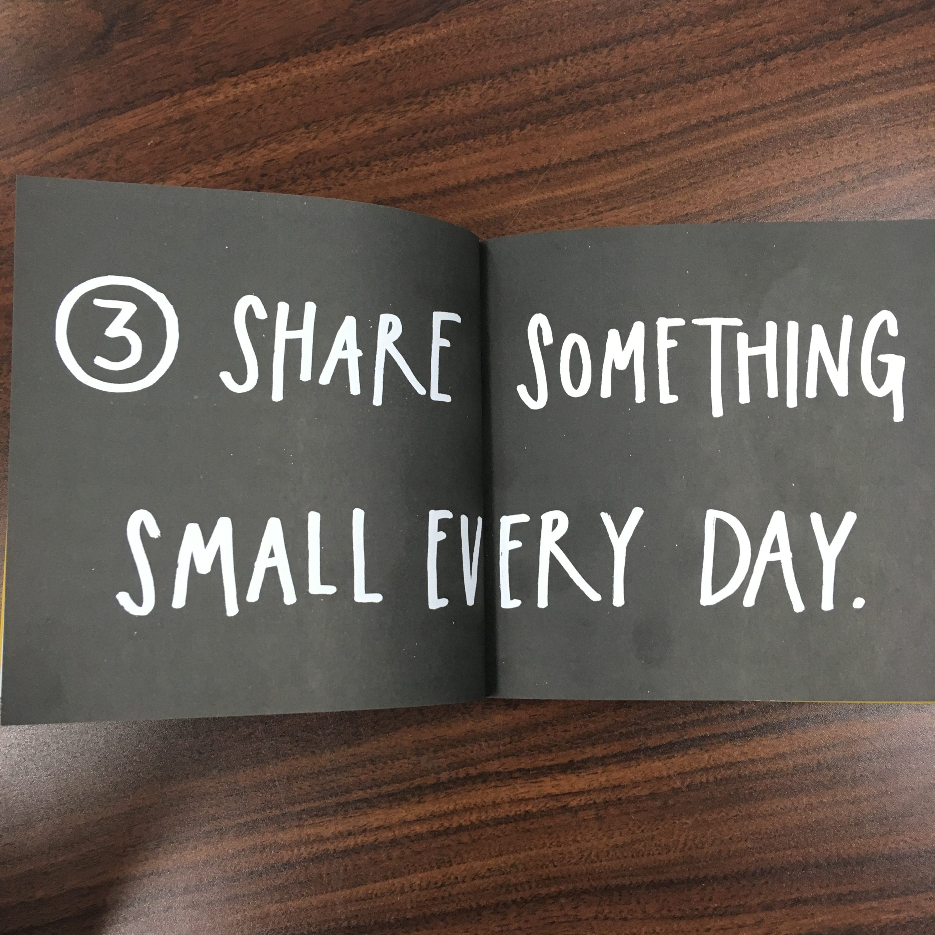 Show your Work by Austin Kleon share something small every day