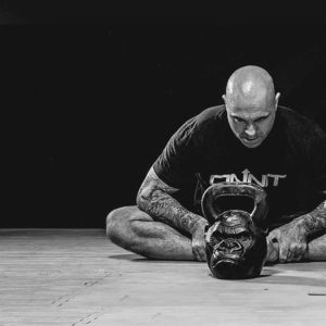 Joe Rogan gorilla kettlebell stretching