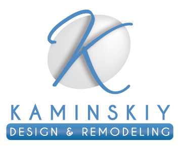 Kaminsky design and remodeling logo